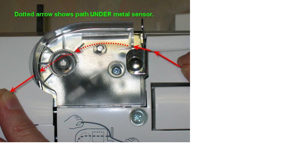 XL40 FAQs SINGER Futura Support Stunning How To Thread A Singer Futura Sewing Machine