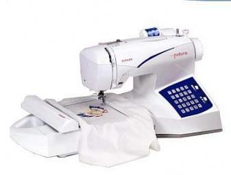 singer futura ce 100 embroidery machine
